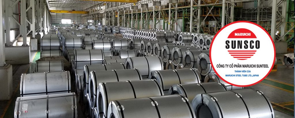 Các nhà máy sản xuất tôn tại Sunsco