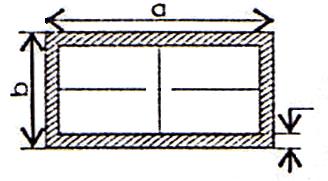Kích thước thép hộp chữ nhật