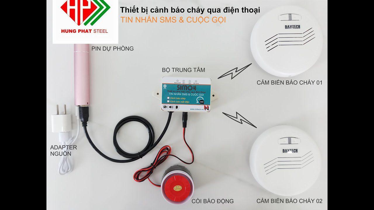 Cách hoạt động thiết bị báo cháy