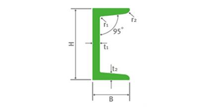 Bảng giá thép hình U I V H