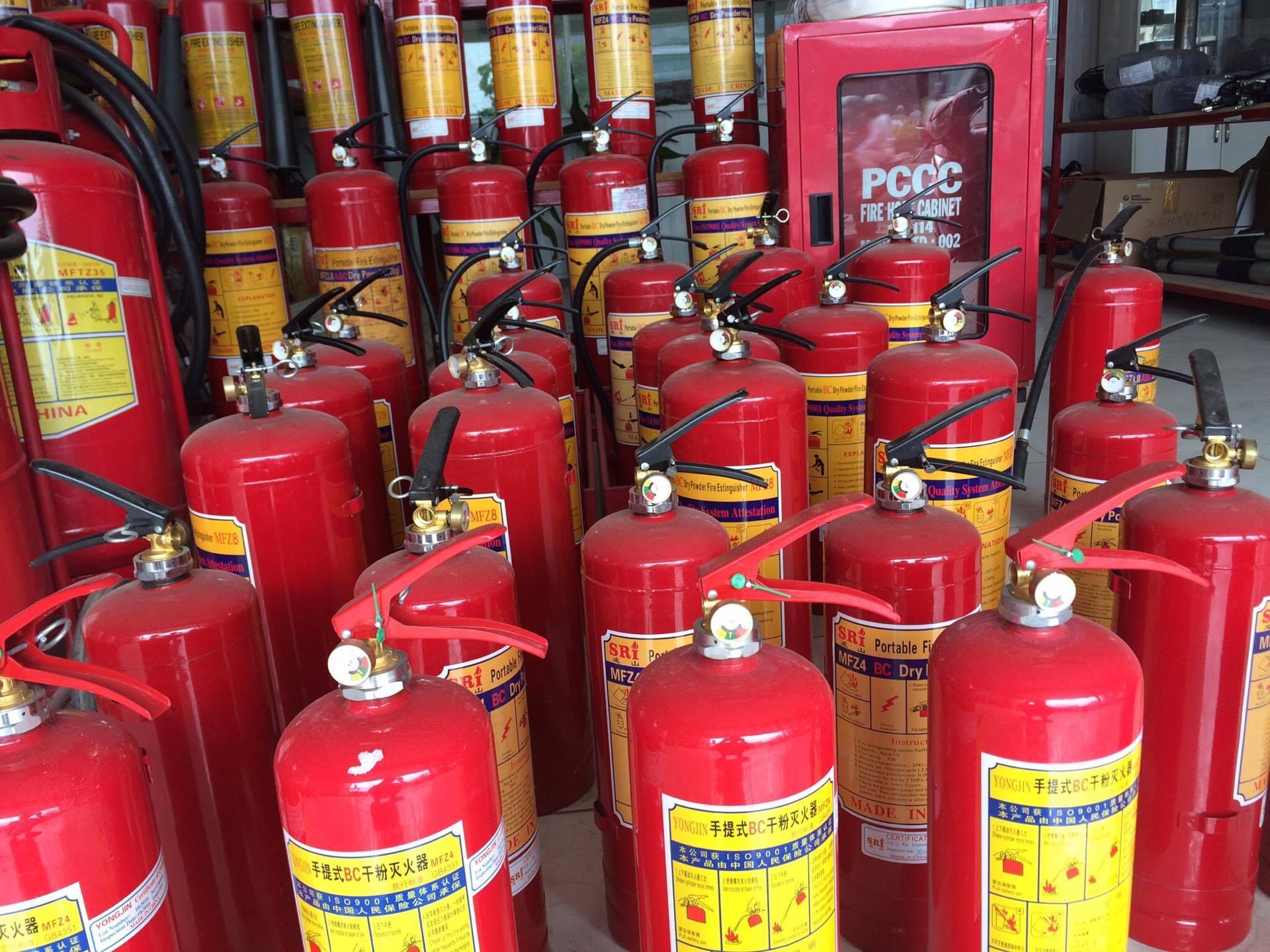Bình chữa cháy xử lý cháy ban đầu