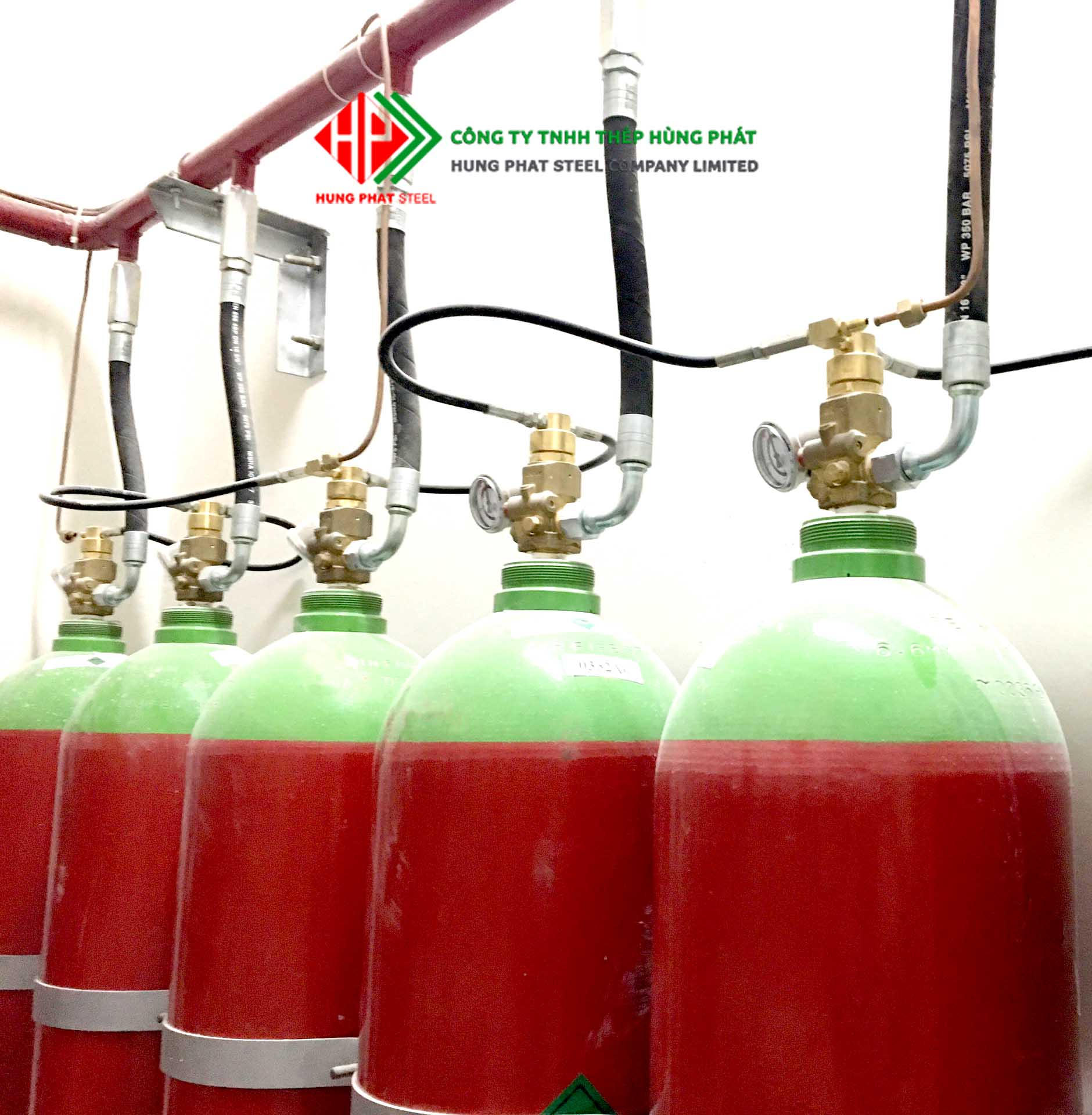 Hệ thống chữa cháy tự động Nitơ, các thệ thống chứa cháy