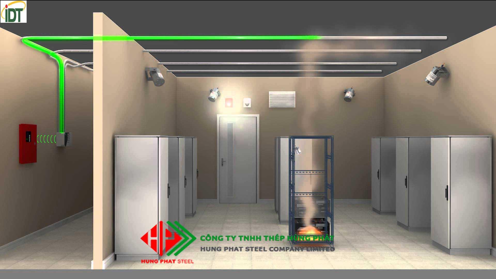 Hệ thống chữa cháy tự động Stat-X