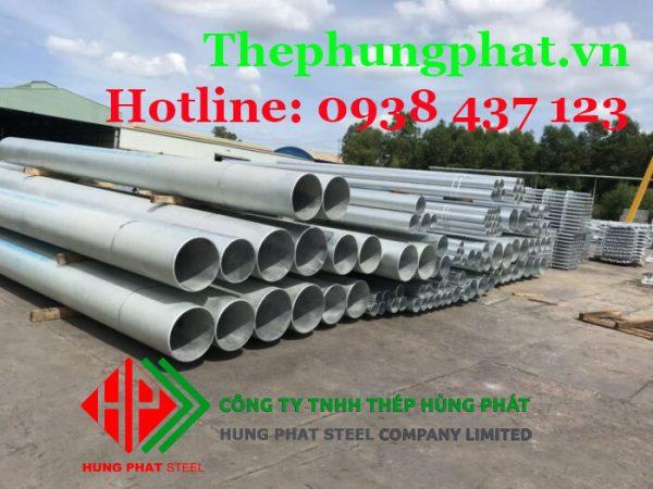 Báo giá thép ống mạ kẽm tại Bạc Liêu