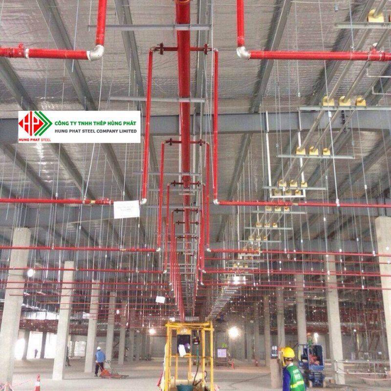 Ứng dụng của thép ống trong dự án cấp thoát nước