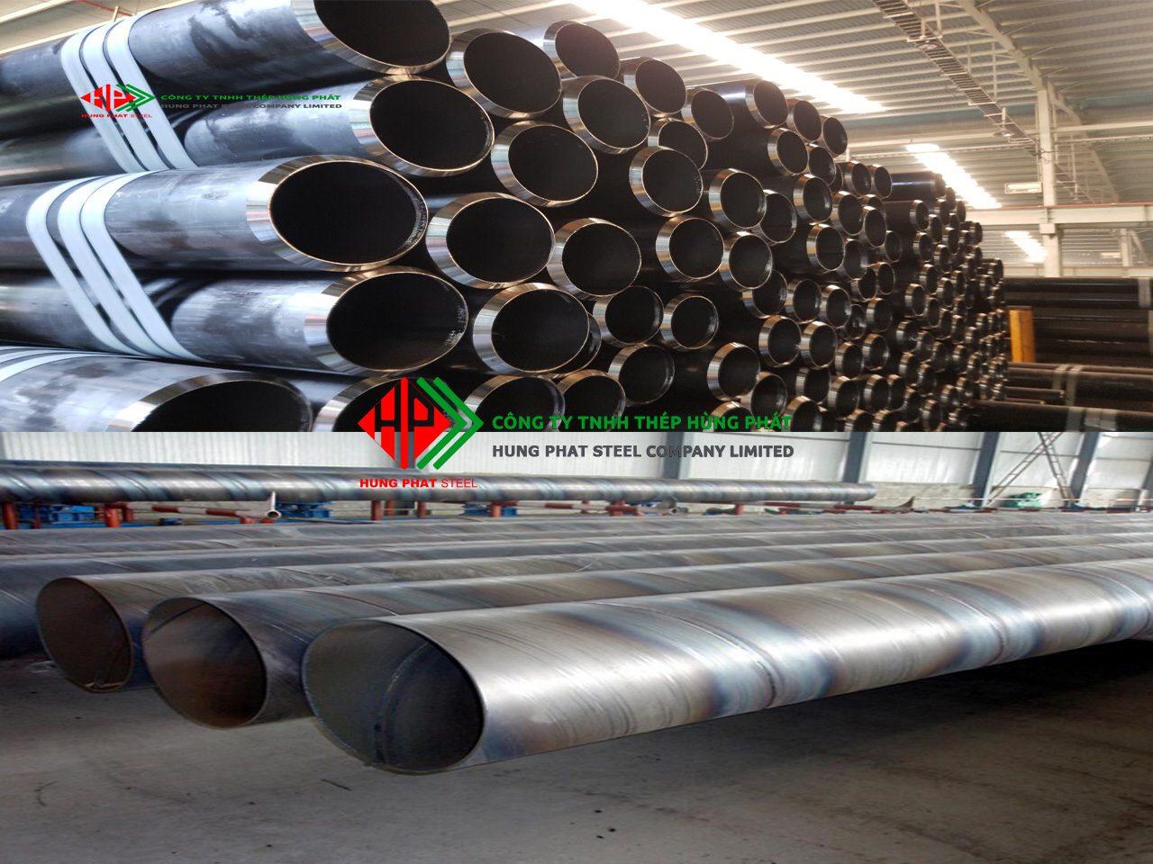Quy trình sản xuất ống thép đúc – ống thép hàn