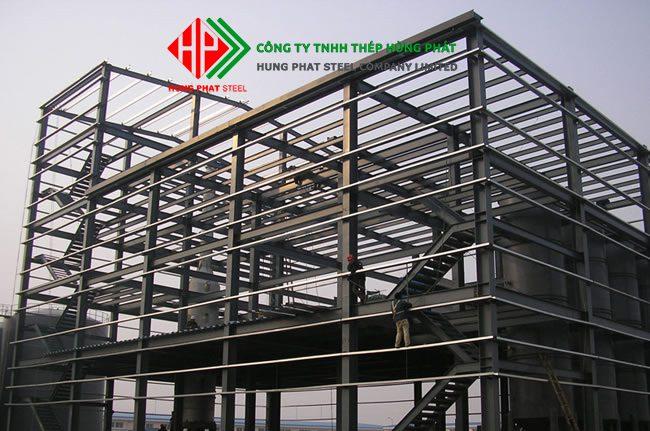 Ứng dụng của kết cấu thép trong xây dựng