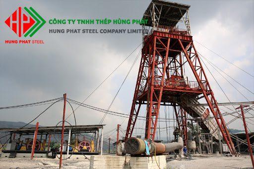 Ứng dụng của kết cấu thép trong Khai thác mỏ
