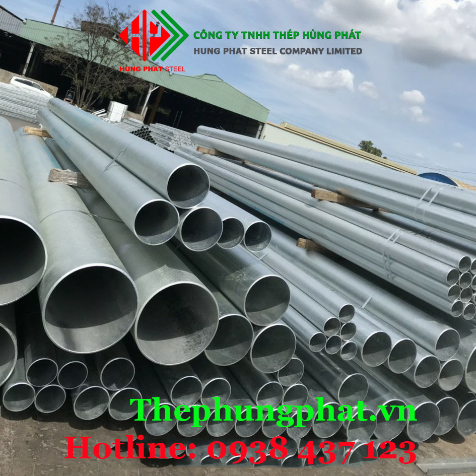 Báo giá thép ống mạ kẽm tại Bắc Giang