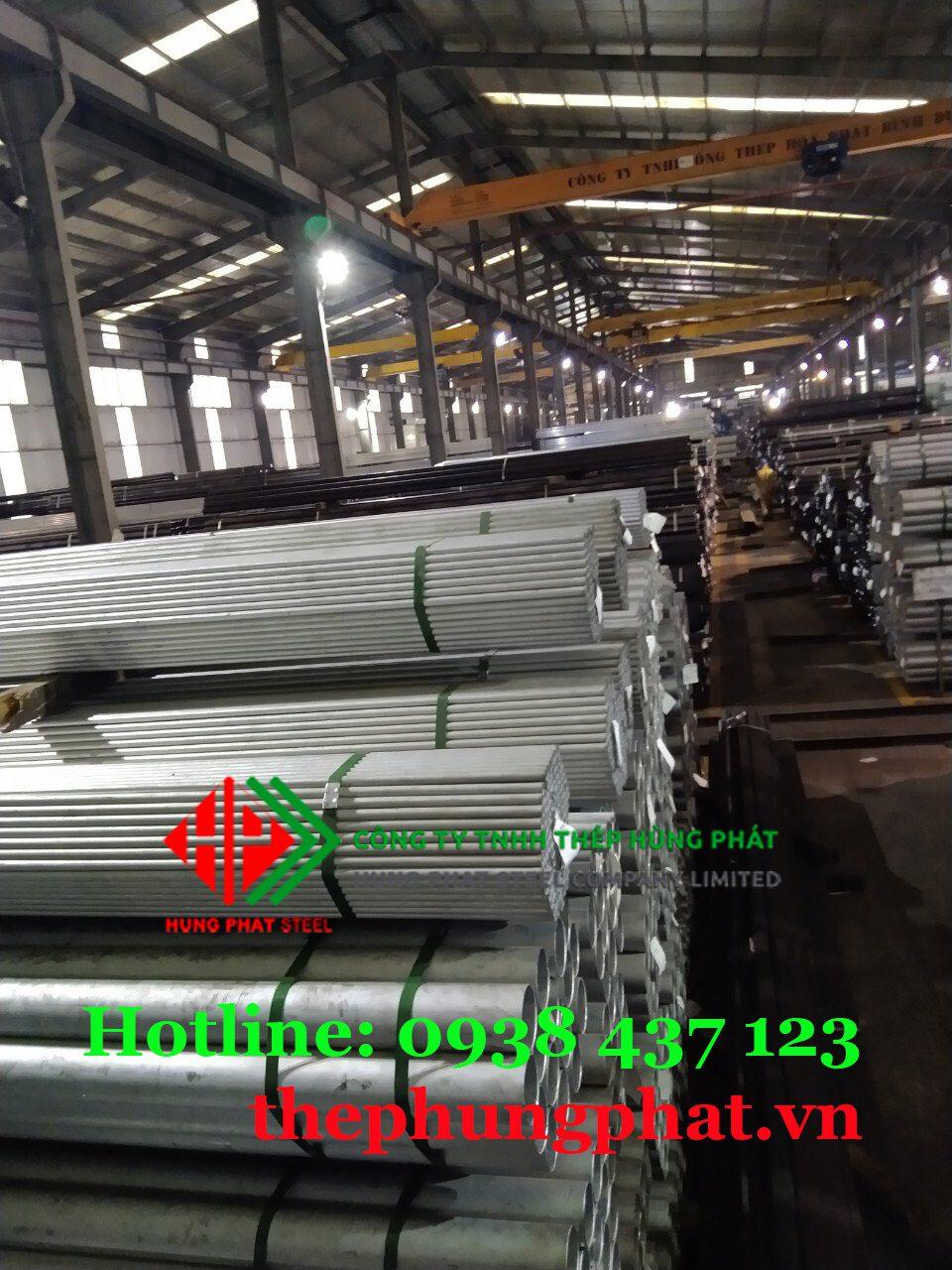 Báo giá thép ống mạ kẽm tại Long An