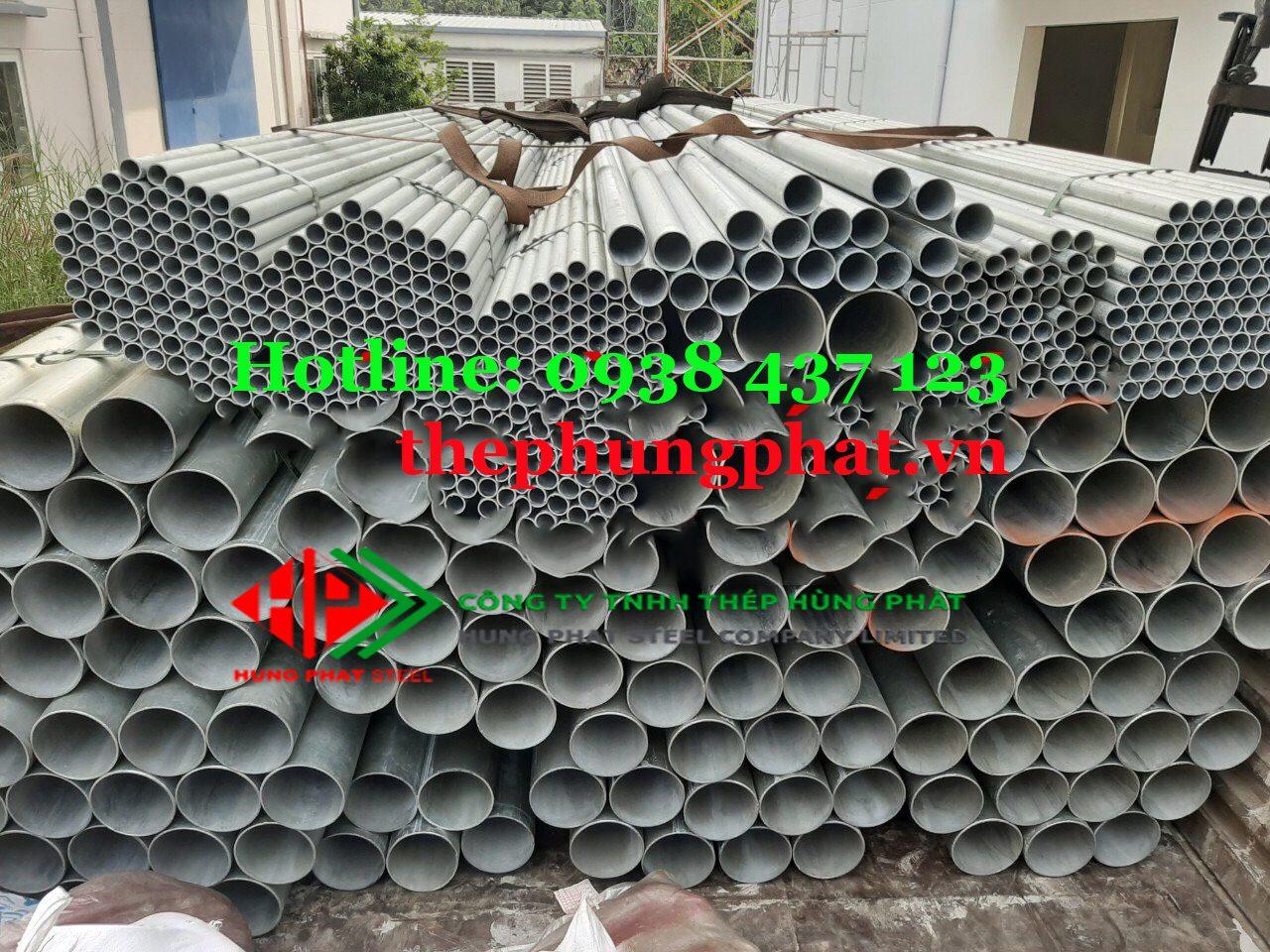 Báo giá thép ống mạ kẽm tại Thái Bình