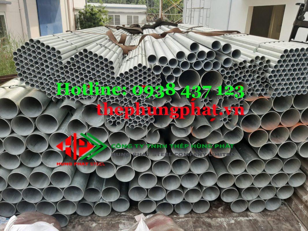 Thông số kỹ thuật thép ống mạ kẽm