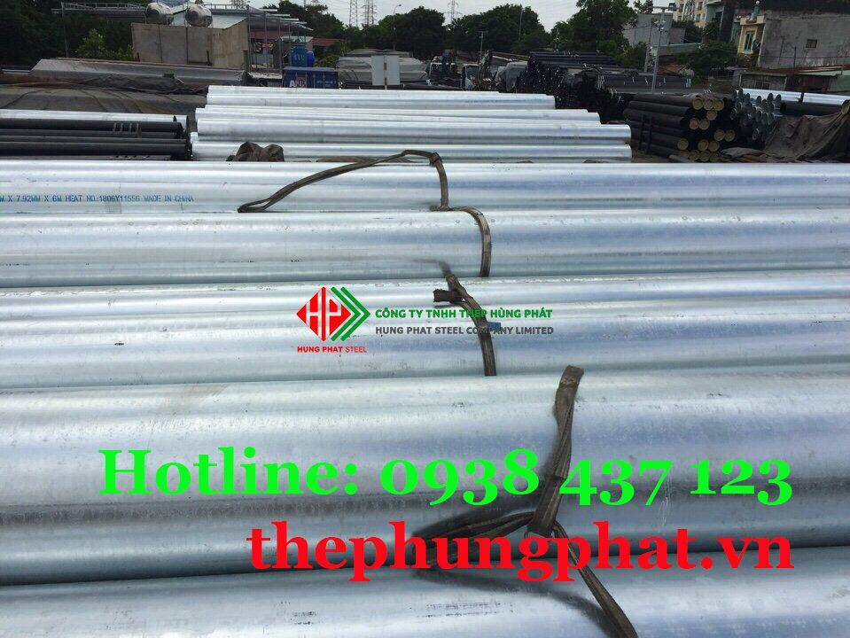 Báo giá thép ống mạ kẽm tại Bình Định