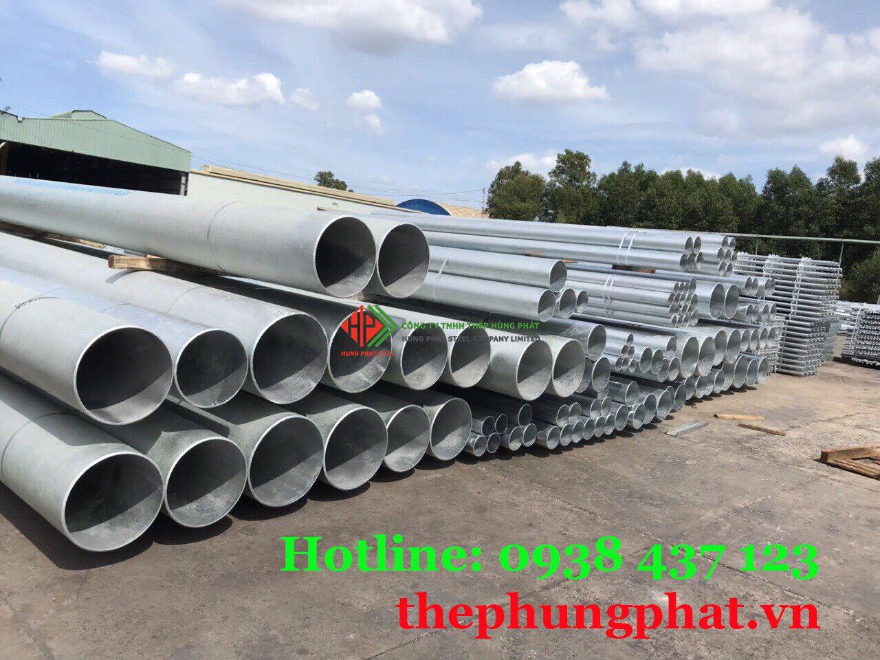 Báo giá thép ống mạ kẽm tại Vĩnh Long