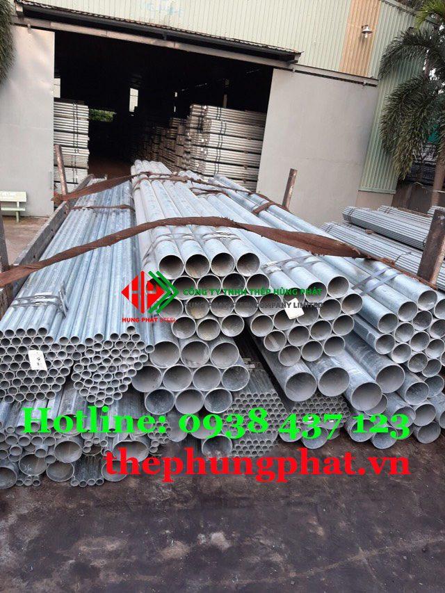Báo giá thép ống mạ kẽm tại Hà Giang