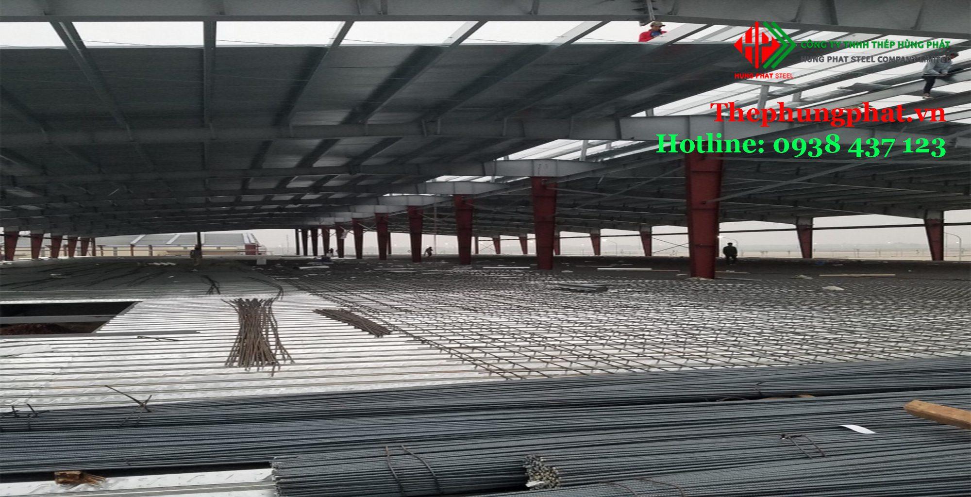 Ứng dụng của tôn đổ sàn deck