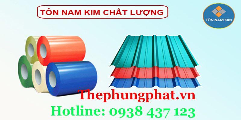 Các dòng sản phẩm Tôn Nam Kim phổ biến trên thị trường