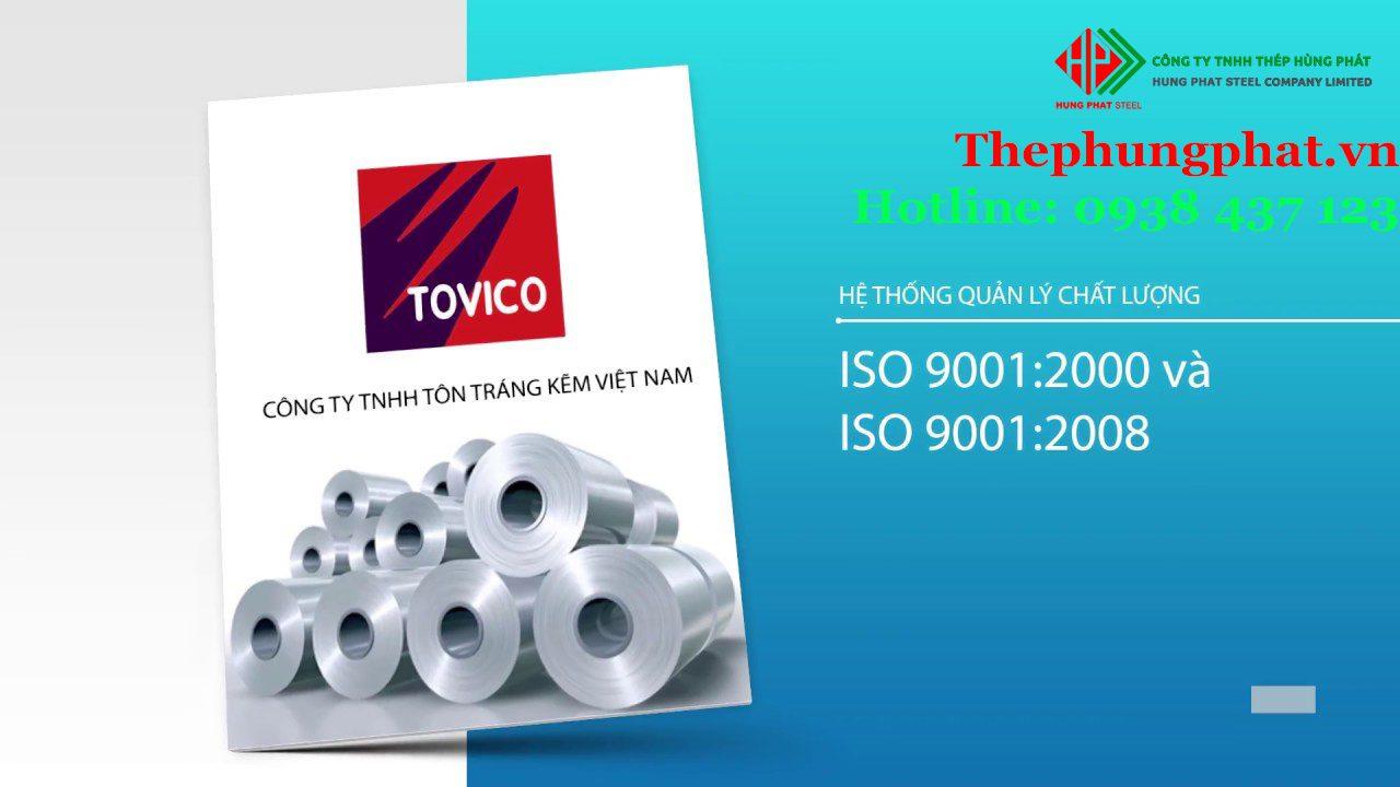 Tìm hiểu nhà máy tôn Tovico