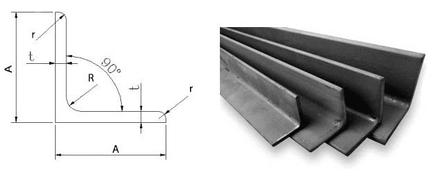 Đặc điểm thông số kỹ thuật thép hình V
