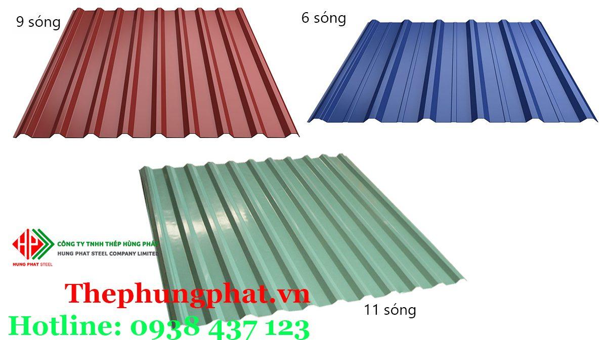 Phân loại tôn lợp mái theo từng loại công trình