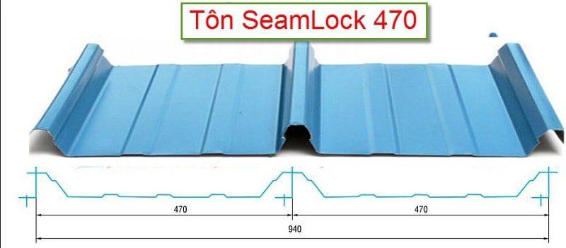 Đặc tính kỹ thuật tôn Seamlock