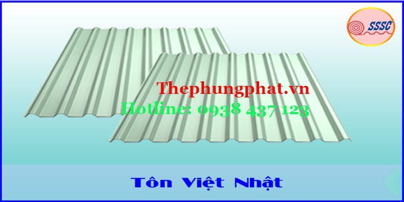 Tôn lạnh Việt Nhật