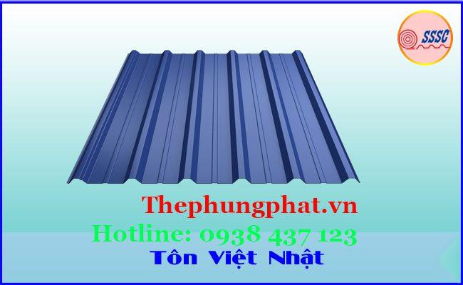Tôn lạnh mạ kẽm Việt Nhật