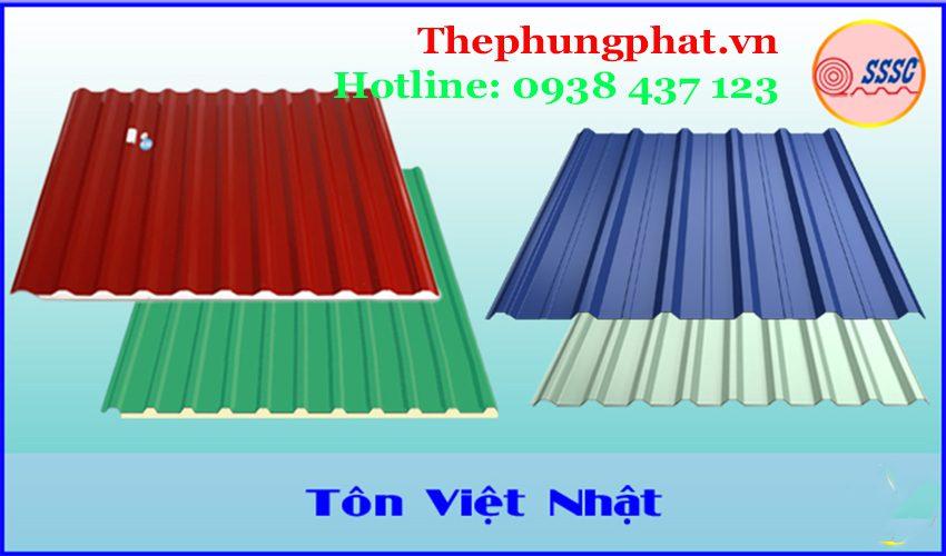 Tôn cách nhiệt Việt Nhật